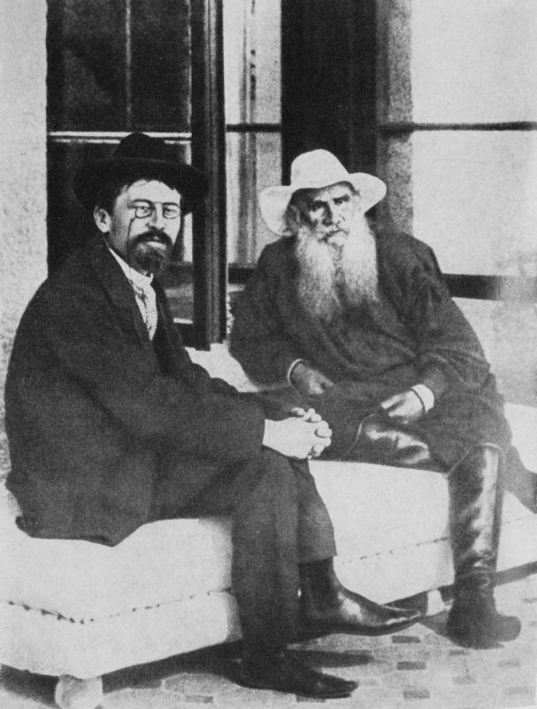 契訶夫與托爾斯泰_1901